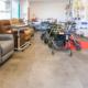 vue des produits dans le magasin espace confort Bastide Grasse